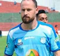 El argentino Juan Tévez será el referente de área de Macará ante los venezolanos.