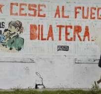 Ecuador confía en un nuevo cese al fuego y que se retome el quinto ciclo de diálogos. Foto: Referencial