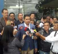 Intento de secuestro habría ocurrido en Colombia. Balda acudió el martes a Fiscalía. Foto: API