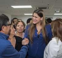 Legisladora Reyes fue sancionada por supuestamente haber insultado a miembros del CAL. Foto: Archivo API