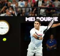 El suizo Roger Federer peleará por un cupo en la final ante el surcoreano Chung Hyeon.