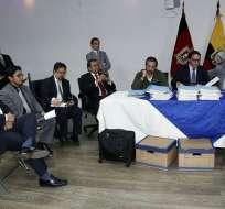 El empresario Enrique Cadena y el activista Fernando Villavicencio fueron convocados a rendir su versión. Foto: API