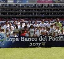 Los 'albos' buscan pelear el campeonato ecuatoriano 2018. Foto: API