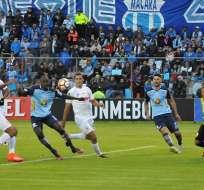 El elenco de Macará no pudo ganar de local en su debut en la Conmebol Libertadores.