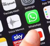 La estafa se extiende mediante un link que se envía por WhatsApp.