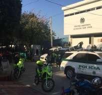 El alcalde de Barranquilla, Alejandro Char, adjudicó el ataque a organizaciones narco. Foto: Twitter