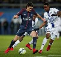 Edinson Cavani es el nuevo máximo goleador del París Saint Germain de la Ligue 1.