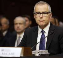 WASHINGTON, EE.UU.- McCabe era cuestionado por Trump y los republicanos por su lealtad al exdirector del FBI, James Comey. Foto: AP.