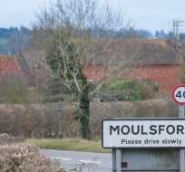 LONDRES, Reino Unido.- El robo tuvo lugar el 22 de enero en el pueblo de Moulsford, en el sur de Inglaterra. Foto: Telegraph.co.uk.