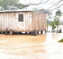 Se registraron deslizamientos en 4 carreteras y un derrumbe en una comunidad. Foto: elperiodico.com.gt