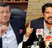 Carlos Villacís y Dalo Bucaram están enfrentados por este tema.