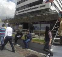 QUITO, Ecuador.- La tabla se calculó tomando en cuenta el salario básico unificado actual.  Foto: MIES.