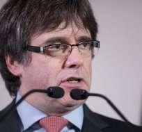 CATALUÑA, España.-  Carles Puigdemont es el único candidato con apoyos suficientes paras ser investido presidente catalán. Foto: BBC