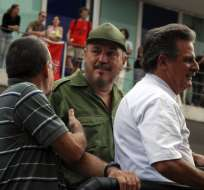 Fidel Castro Díaz-Balart había sido atendido por un estado depresivo profundo. Foto: AFP