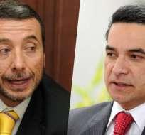 Vinicio y Fernando Alvarado manejaron la comunicación en durante el Gobierno de Correa.