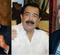 Los líderes políticos tuvieron diversas lecturas sobre el proceso electoral. Foto: Collage.