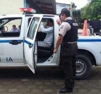 Se detuvo a 3 personas por intentar sufragar con un nombre supuesto. Foto: Twitter Policía