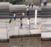 El video, al parecer registrado en México, se volvió viral. Foto: Captura