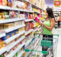 La dolarizada economía ecuatoriana presentó deflación durante 5 meses de 2017. Foto: Archivo