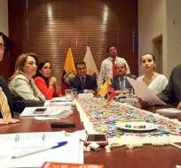 El presidente de la Asamblea Nacional, José Serrano, convocó a los jefes de bancadas para analizar la integración de una Comisión Ocasional que viabilice los resultados de la Consulta Popular.