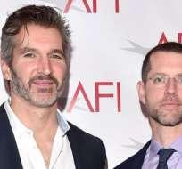 """Benioff (i) y Weiss (d) harán sus películas de """"Star Wars"""" en cuanto termine """"Juego de Tronos""""."""