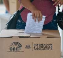 Misiones internacionales entregan informes de observación electoral en el referendo y consulta popular. Foto: API