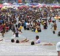 Organismos de control tienen listo el plan de seguridad para el feriado de Carnaval. Foto: Archivo - Referencial