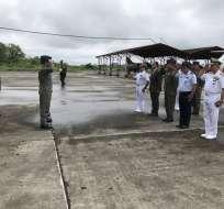 Ministerio ya cuenta con $10 millones para reforzar la seguridad en la frontera norte.  Foto: Twitter@DefensaEc