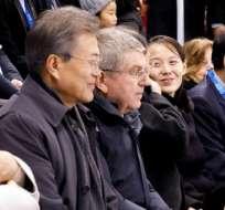 La hermana de Kim Jong Un invitó al presidente surcoreano Monn Jac-in a una cumbre. Foto: AFP