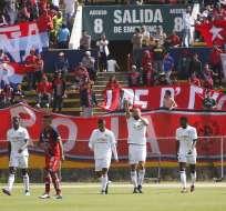 Los 'albos' ganaron 4-3 a los 'puros criollos' en el Olímpico Atahualpa. Foto: API