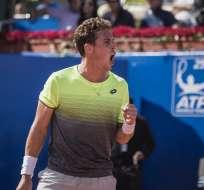 El tenista venció a su compatriota Albert Ramos-Viñolas en tres sets, 6-3, 4-6 y 6-4. Foto: Tomada de la cuenta Twitter @EcuadorOpen250