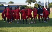 El elenco azuayo visitará al Sportivo Luqueño por el juego de ida de la primera ronda. Foto: Tomada de la cuenta Twitter @DCuencaOficial