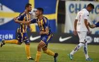 El Sportivo Luqueño anotó a través de Blas Armoa y Fredy Bareiro. Foto: AFP