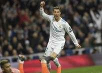 Cristiano Ronaldo marcó un 'doblete' para darle vuelta al marcador. Foto: AFP