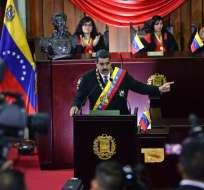 Países del Grupo de Lima pidieron al Gobierno reconsiderar el cronograma electoral. Foto: AFP