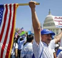 Proyectos abrían camino para que 1,8 millones de jóvenes inmigrantes accedieran a la ciudadanía. Foto: Archivo / observatoriocolef.org