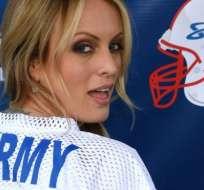 Sotrmy Daniels es actriz, guionista y productora de películas para adultos en Estados Unidos.