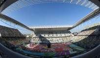 El Arena Corinthians fue la sede de la inauguración del Mundial Brasil 2014. Foto: Tomada de peru21.pe