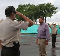 Thania Moreno dijo que tras investigación a fiscal general Carlos Baca le retiraron 26 policías. Foto: Flickr Ministerio del Interior