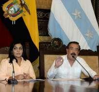 GUAYAQUIL, Ecuador.- La ejecución de la aerovía no se detendrá, según los representantes de ambos municipios. Foto: API.
