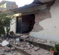 Servicio sismológico mexicano situó en 7,0 la magnitud del movimiento telúrico. Twitter @Milenio