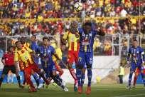 El partido se disputó en el estadio Gonzalo Pozo Ripalda. Foto: API