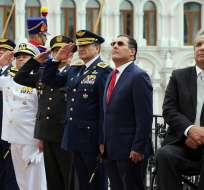 El presidente de la República, Lenín Moreno, informó que había dialogado con el gobierno colombiano sobre el incidente. Foto: Vistazo.com.