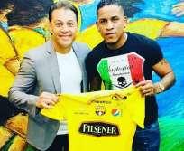 El ecuatoriano tiene una sobrecarga en el abductor derecho. Foto: Tomada de la cuenta Instagram @michaelarroyo110