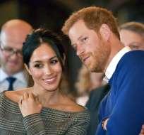 La boda de la exactriz con el príncipe Enrique genera expectativa en Reino Unido. Foto: AP.