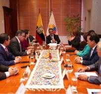 QUITO, Ecuador.- El CAL resolvió que votación del pleno sea terna por terna, de las enviadas por Ejecutivo. Foto: Asamblea