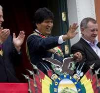 Los gobiernos de Bolivia y Venezuela mantienen una fuerte afinidad política. Foto: Archivo AP