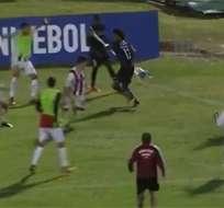 Angelo Preciado es uno de los jugadores suspendidos para la final de la Libertadores.