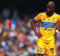El ecuatoriano Enner Valencia mostró su inconformidad con las decisiones técnicas de Ferretti.
