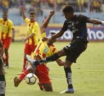 Independiente del Valle se mantiene entre los primeros tras vencer a Aucas.